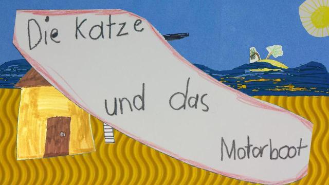 Die Katze und das Motorboot