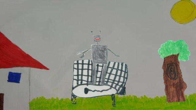 Der fliegende Roboter