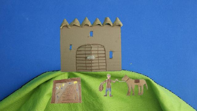 Die Mine unter der Burg