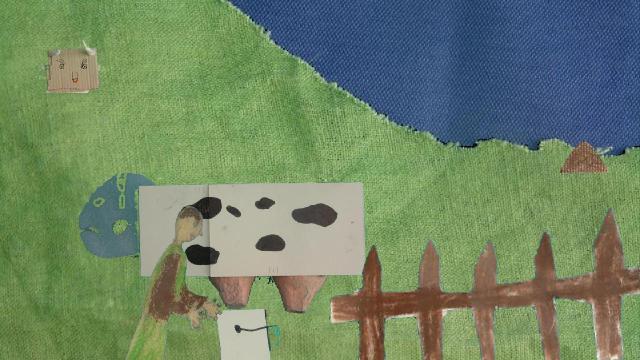 Der tollpatschige Bauer