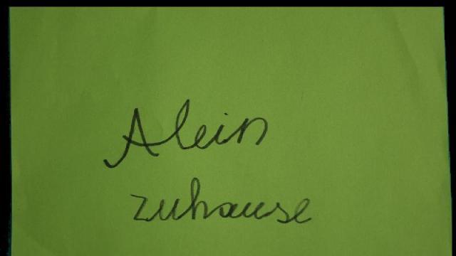 ALEIN ZUHAUSE