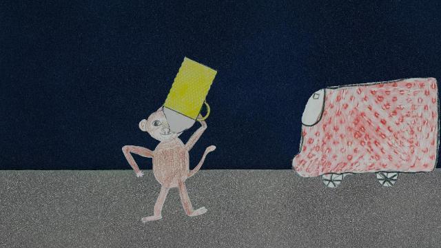 The Drunk Monkey - Der betrunkene Affe