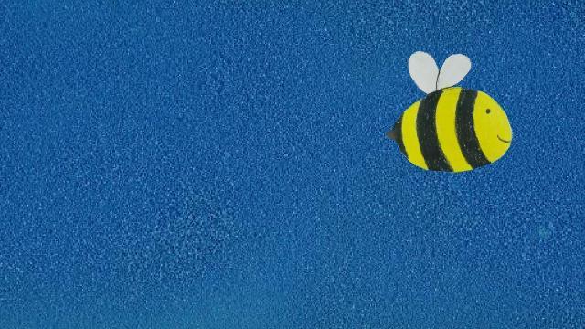 Superheld vs Biene