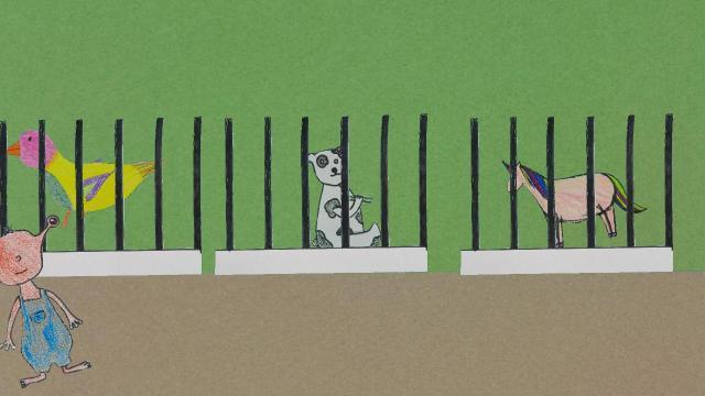 Der Fall im Zoo
