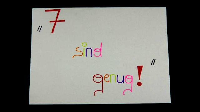 7_SIND_GENUG