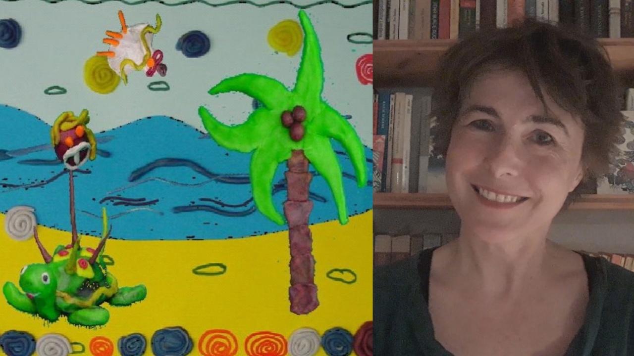 Die Schildkröte mit den Zauberstacheln präsentiert von Christiane Thenius